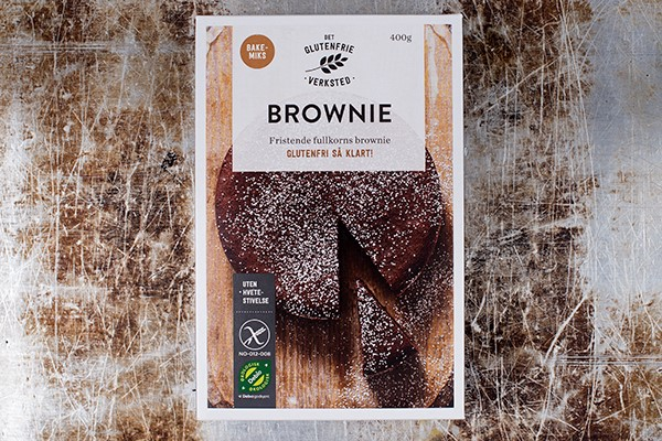 Brownie DET GLUTENFRIE VERKSTED